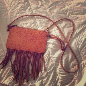 FREE PEOPLE Genuine Leather Boho Bag